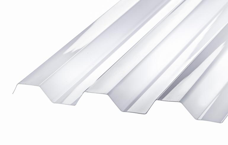 SUNLUX 2000PC Trapezplade, 76/18, Opal