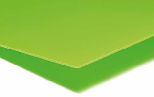 PLEXIGLAS® GS 3,0 mm Grøn Translucent LT 12%