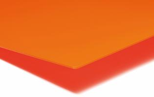 PLEXIGLAS® GS 3,0 mm Orange Translucent LT 6%